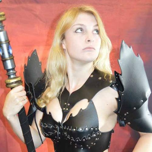 Harriett in Witch Armour