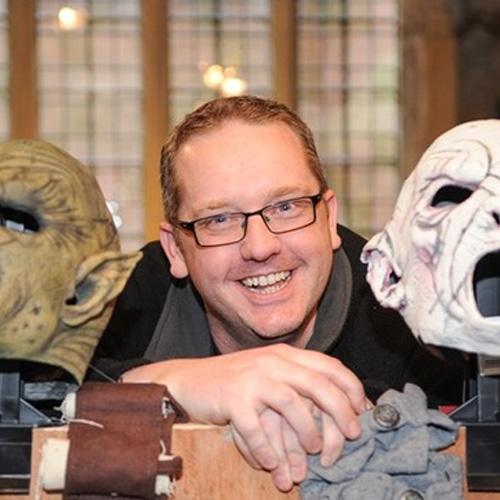 Jamie with Masks